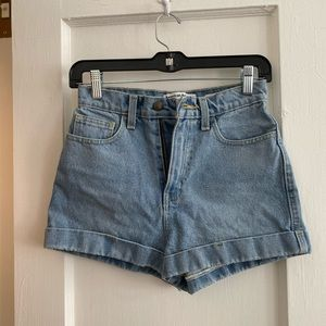 American apparel shorts sz 25